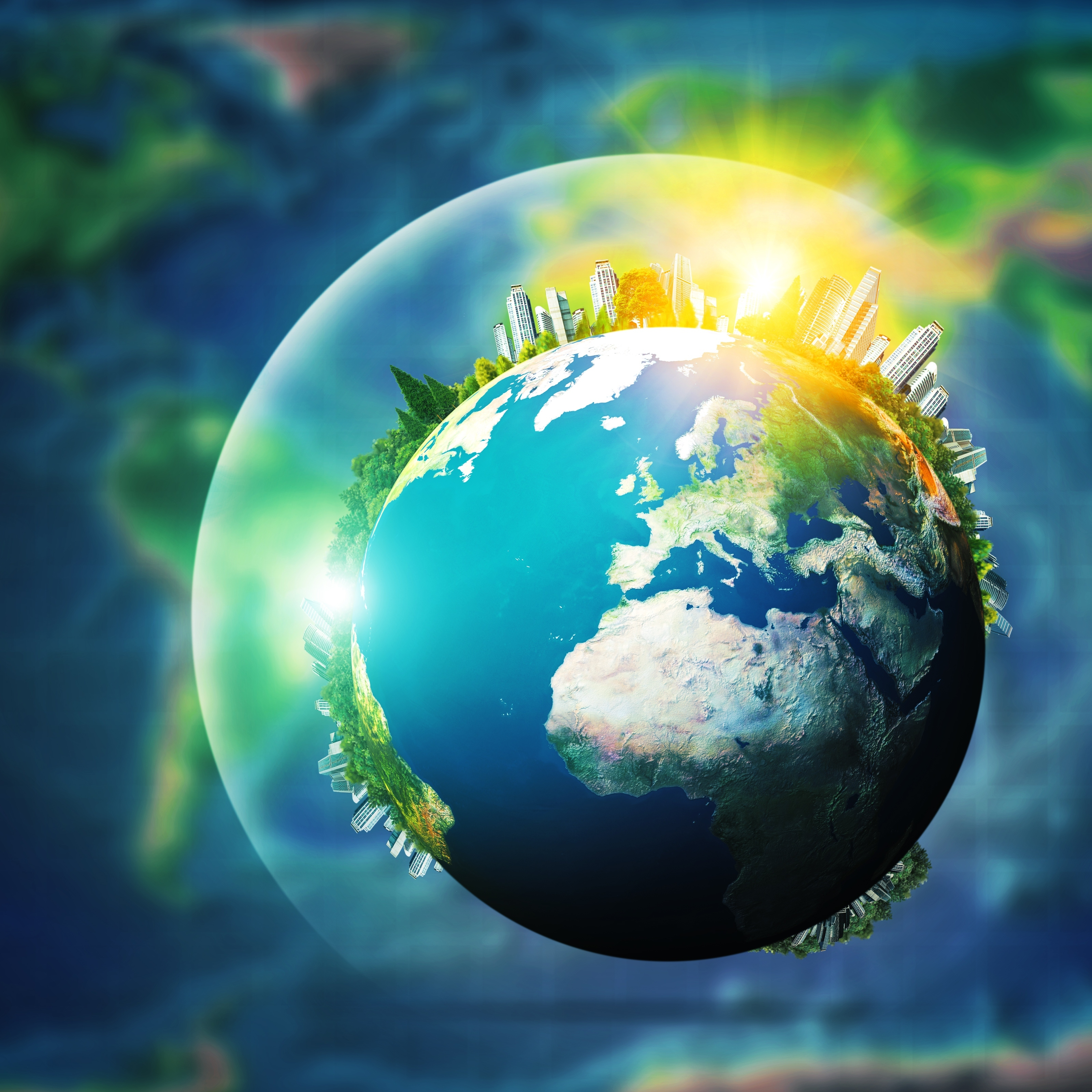 What greenhouse gases are released?